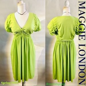 Neon Babydoll Dress w POCKETS!